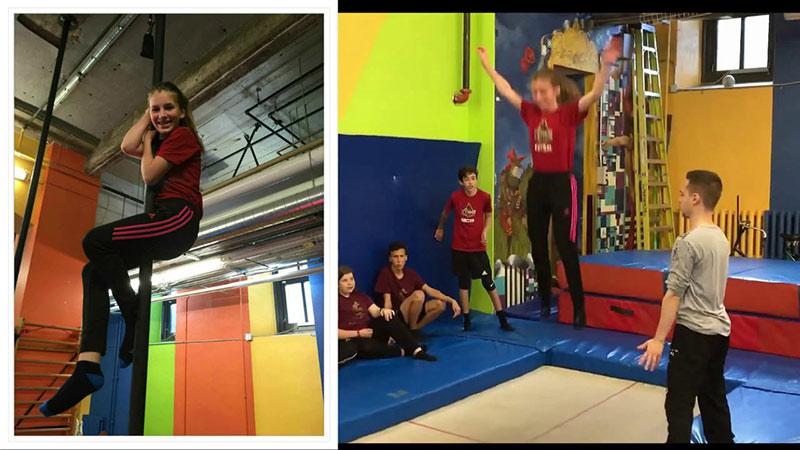 Immersion anglaise - Une journée à l'École de cirque de Québec