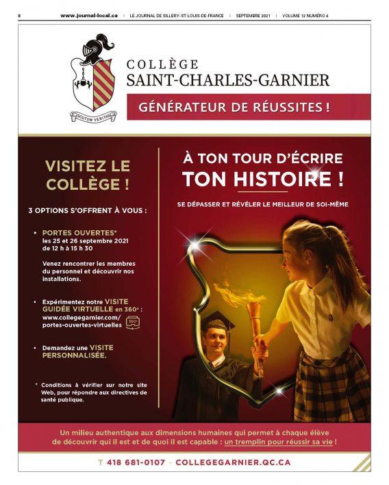 LE JOURNAL DE SILLERY–ST-LOUIS-DE-FRANCE / Septembre 2021